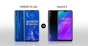 Honor 10 Lite vs Realme 3 comparison ...