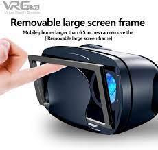 Kính thực tế ảo 3D Vrg Pro hỗ trợ điện thoại 5-7 inch cho Samsung, iPhone,  Xiaomi, Oppo