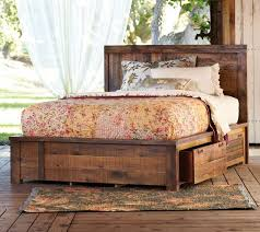 rustic platform beds with storage. Looks AND Storage?? I Love This Bed! Rustic Platform Beds With Storage Pinterest