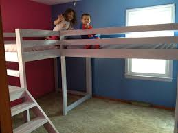 Twin loft beds with platform | Do It Yourself Home Projects from ...
