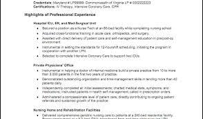 geriatric nurse resume