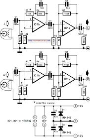 circuit diagram cette deck playback lifier circuit diagram