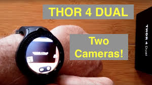"<b>ZEBLAZE THOR 4 DUAL</b> (Two Cameras) 4G Android 7.1.1 ""Always ..."