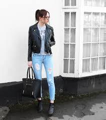 leather jacket jeans 01