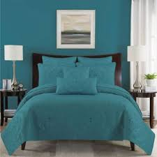 Buy Aqua King Quilt from Bed Bath & Beyond & Paloma Reversible King Quilt Set in Aqua Adamdwight.com