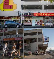 footscray melting pot turned hipster hotspot abc news three images of people walking around footscray market