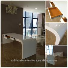 white luxury office chair. High End Office Desk. White Executive Luxury Furniture Modern Desk Chair