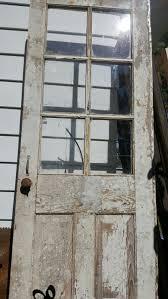 vine wood door six 6 pane old wood door rustic wedding