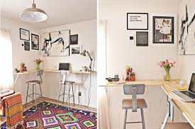 Clever office organisation 29 diy office table Shelf The Spruce 21 Desk Ideas Perfect For Small Spaces
