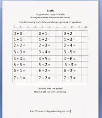 1st Grade Math Worksheet : Kelpies