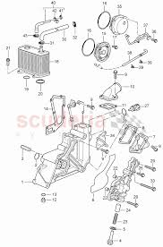 oil pump tandem pump for porsche 911 997 2005 carrera enlarge diagram · Â