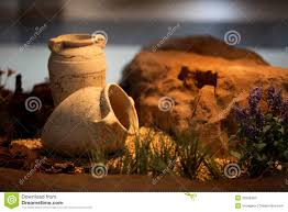 Decorative Jugs And Vases Ceramic Vases Clay Jugs Decoration And Craft Stock Photo Image