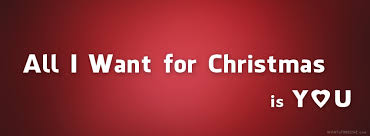 Resultado de imagen para all i want for christmas is you