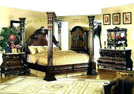 Beds ~ Beds With Posts Black Bedroom Furniture Bed Post Canopy How ...