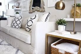 ikea karlstad sofa cover in linen long