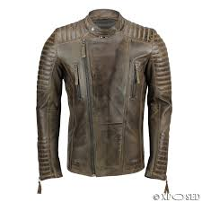 mens real leather biker jacket retro brown vintage slim fit casual mens real leather biker jacket retro brown vintage