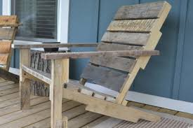 Excellent N Deck Chair From A Pallet Together With Build Your Own Wooden  Deck Chair From