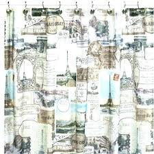 outdoor shower curtain curtains travel trailer ides finding rod