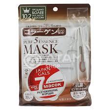JAPAN GALS <b>Набор масок</b> для лица тканевых для <b>упругости</b> кожи ...