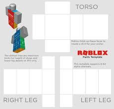 Roblox Template Editor Roblox Shirt Template Transparen Info Transparent Download