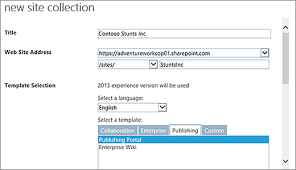 Create Sharepoint Site Template Build A Classic Sharepoint Publishing Site Sharepoint