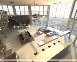 Large Living Room Designs Open Plan Penthouse Design Layout Living Rooms With Great Views