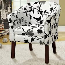 Printed Chairs Living Room Furniture Accent Chairs With Arms For Elegant Family Furniture