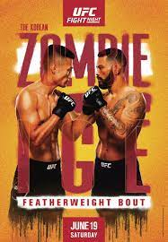 UFC Fight Night – The Korean Zombie vs ...
