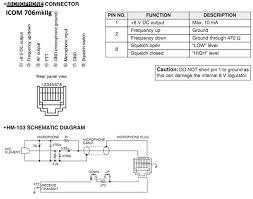 technical specs icom706 mic wiring icom706 mic wiring