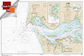 Noaa Chart 18521 Columbia River Pacific Ocean To Harrington Point Ilwaco Harbor 21 00 X 30 99 Small Format Waterproof