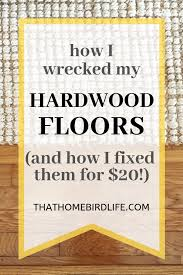 how i wrecked my hardwood floors and fixed them rug pads for hardwood floors