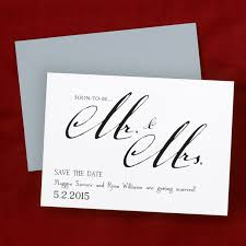 Blank Save The Date Cards Mr Mrs Save The Date Card Or Magnets Little Flamingo
