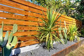 exterior wood fences. fence decoration landscape modern with wood horizontal exterior fences w