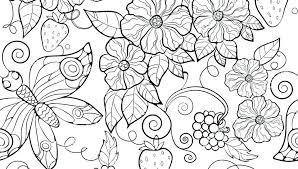 Coloring Pages For Adults Printable Flowers Free Only Animals Quotes