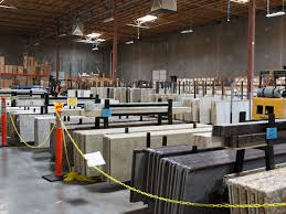 pictured granite countertop selection at superior stone cabinet s warehouse and showroom in phoenix