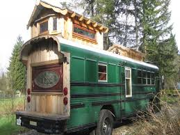 tiny house school bus. Photo Courtesy Of Tiny House Listings. This School Bus