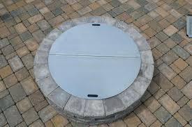 metal fire pit cover. Metal Fire Pit Covers Flat Outdoor Round Large Cover