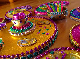 Mehndi Tray Decoration Hand made Mehndi plates Please see my Facebook page Wwwfacebook 9