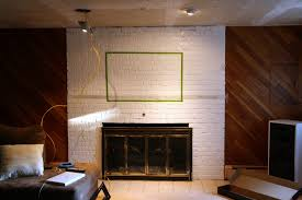 fireplace tv mount on brick fireplace room design decor best under home hide cables wall aytsaid