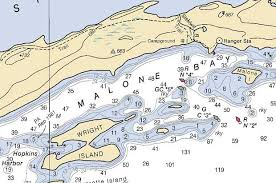Nautical Chart Numbers Navigation Read A Marine Chart Part 2 Paddlinglight Com