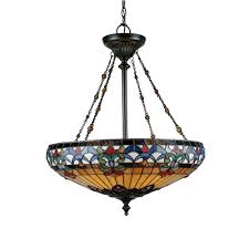 Discount Tiffany Style Lighting Tiffany Style Belle Fleur Pendant Love Home Living