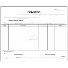 Requisition Form Requisition Form Padded Forms 1