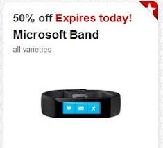 Target Microsoft Band New High Value 50 Off Microsoft Band Target Cartwheel Offer Valid