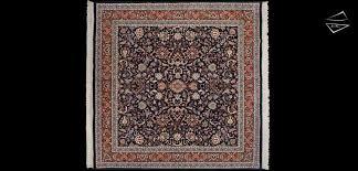 12x12 rug 10x10 kashan design square rug 12x12 rug blue