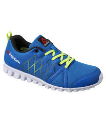 Reebok Pulse Run Lp Blue Running Shoes For Boys Price In