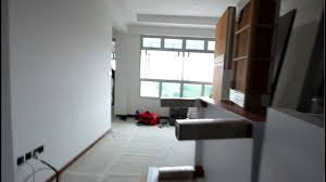 BTO 3 Room HDB renovation by Interior Designer Ben Ng -- Part 3 --  Carpentry - YouTube