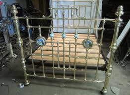 antique brass bed. Before Timeless Antiques Restoration After Antique Brass Bed