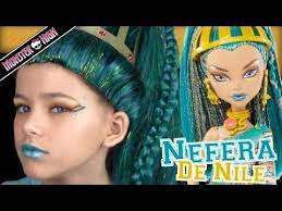 monster high nefera de nile doll costume makeup tutorial for or cosplay kittiesmama
