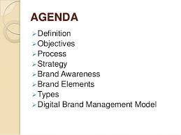 brand management objectives brand communication