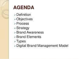 brand management objectives brand communication
